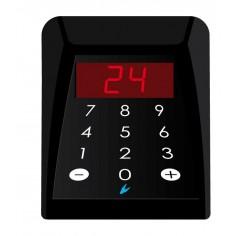 Console numerica da banco con display a 2 cifre per eliminacode