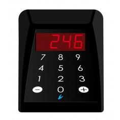 Console numerica da banco con display a 3 cifre per eliminacode