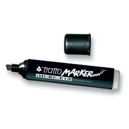 Marcatore indelebile Tratto Marker : punta scalpello