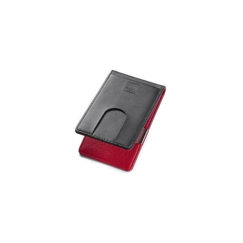 b7ed0434c6 TROIKA - Porta carte di credito con clip soldi - RED PEPPER ...