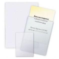 Buste ad U trasparenti formato 15x21 - spessore alto