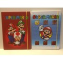 Super Mario Bros carpetta con elastico - dorso 1 cm