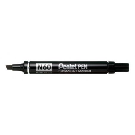Pentel N60 marcatore indelebile - punta scalpello