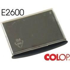 Tampone cuscinetto per timbro Colop e2600 nero - S400/S600/2600