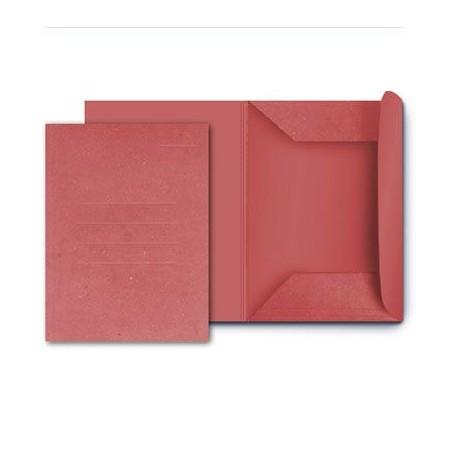 25 cartelle in cartoncino 3 lambi - 25x33 180g - senza stampa rosso