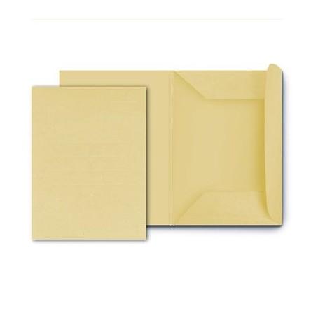 25 cartelle in cartoncino 3 lambi - 25x33 180g - senza stampa giallo