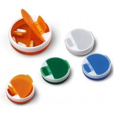 Portapillole con meccanismo a rotazione per estrarre le pillole - comodo e unico