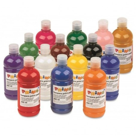 Tempera pronta da 500 ml in bottiglia con dosatore - alta qualità CMP