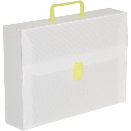 Valigetta polionda neutra dorso 5 con manico - 27x38 -