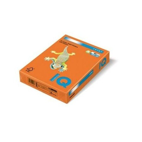 Risma cartoncino color arancio A4 - 160gr  250ff  - monocolore