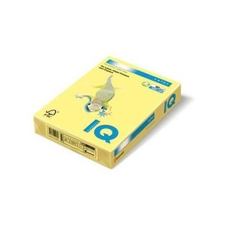 Risma cartoncino color giallo A4 - 160gr 250ff - monocolore