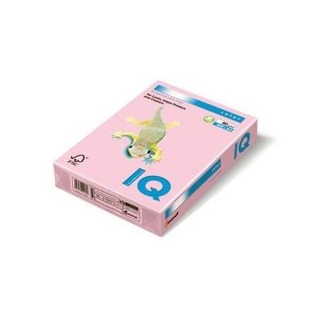 Risma carta color rosa A4 - 80gr 500ff - monocolore