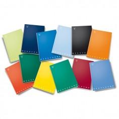 Maxi Quaderno copertina rigida A4 4 mm - 256 pg 80gr - monocolore