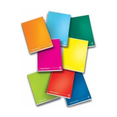Maxi Quaderno copertina rigida A5 4 MM - 256 pg 80gr - monocolore