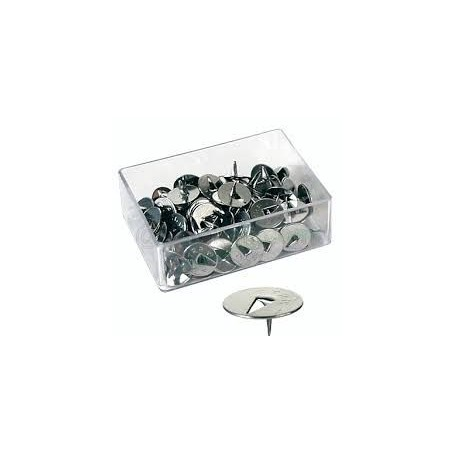 Puntine in acciaio lucido 1 punta - 100 pezzi