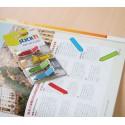 Segnapagine a freccia adesive semitrasparenti - 150 pezzi in 4 colori
