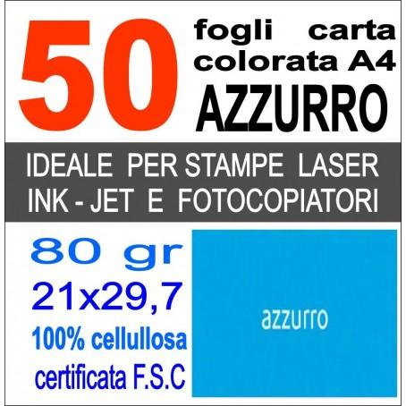 Risma carta color avorio A4 - 80gr  50ff  - monocolore