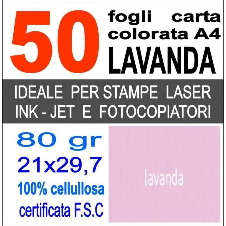 Risma carta color grigio A4 - 80gr  50ff  - monocolore