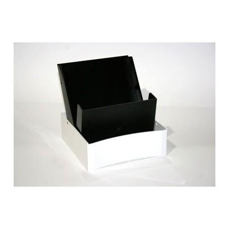 Schedario in plastica per schede 15x10,5 - capacità 150  posti