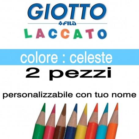 2 pastelli Giotto laccato mina 3,3 mm - colore celeste - GIOTTO LACCATO SFUSO