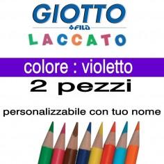 2 pastelli Giotto laccato mina 3,3 mm - colore violetto - GIOTTO LACCATO SFUSO