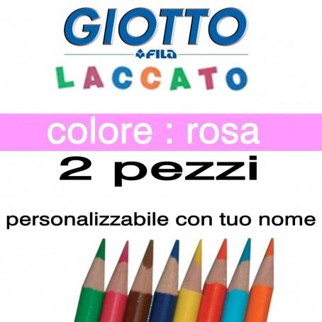 2 pastelli Giotto laccato mina 3,3 mm - colore arancione - GIOTTO LACCATO SFUSO