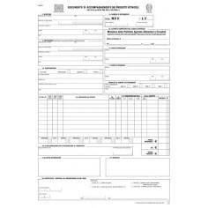 25 MVV moduli Documento di accompagnamento dei prodotti vitinicoli - 5 copie autoricalcante