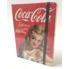 Coca Cola Taccuino 11x15 - rosso con copertina rigida a tema