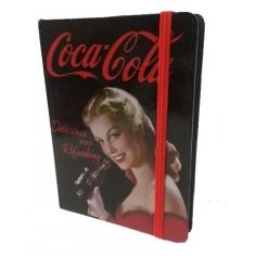 Coca Cola Taccuino 11x15 - nero con copertina rigida a tema