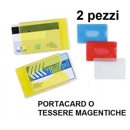 Porta carta di credito e tessera magnetica in plastica rigida
