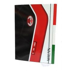Milan carpetta con elastico - dorso 1,5 cm con 3 alette