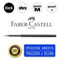 Faber Castell Refill ricarica penna a sfera - Punta M blu