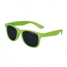 Occhiali da sole protezione UV 400 verde fluo