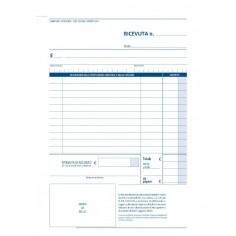 Ricevuta sanitaria 2 copie autoric 14x21 - 2 pezzi