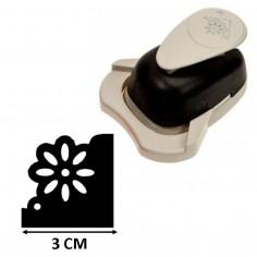 Perforatore fustella per angoli BIG soggetto fiore margherita