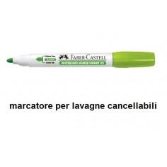 Marcatore  per lavagna cancellabile punta M colore verde