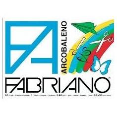 Album Tecnico Fabriano Arcobaleno - 24x33 - 5 colorii