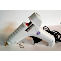 Pistola a caldo professionale per stick da 11mm con ugello in metallo e chip per temperatura costante