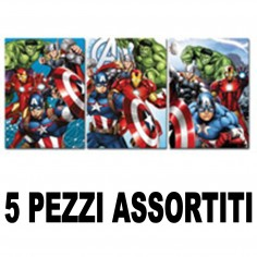 Maxi quaderno Avengers rigo 1 RIGO  vari soggetti  5 pezzi