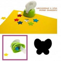 Perforatore a leva per Eva Foam carta crepla  forma farfalla craft punch