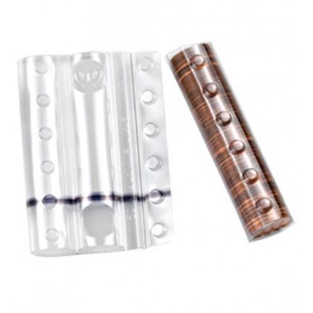 Blister in plastica per monete da 1 cent (20 pezzi) contenitori monete