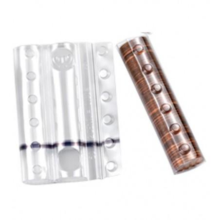 Blister in plastica per monete da 10 cent (100 pezzi) contenitori monete
