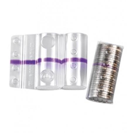Blister in plastica per monete da 2 euro (20 pezzi) contenitori monete