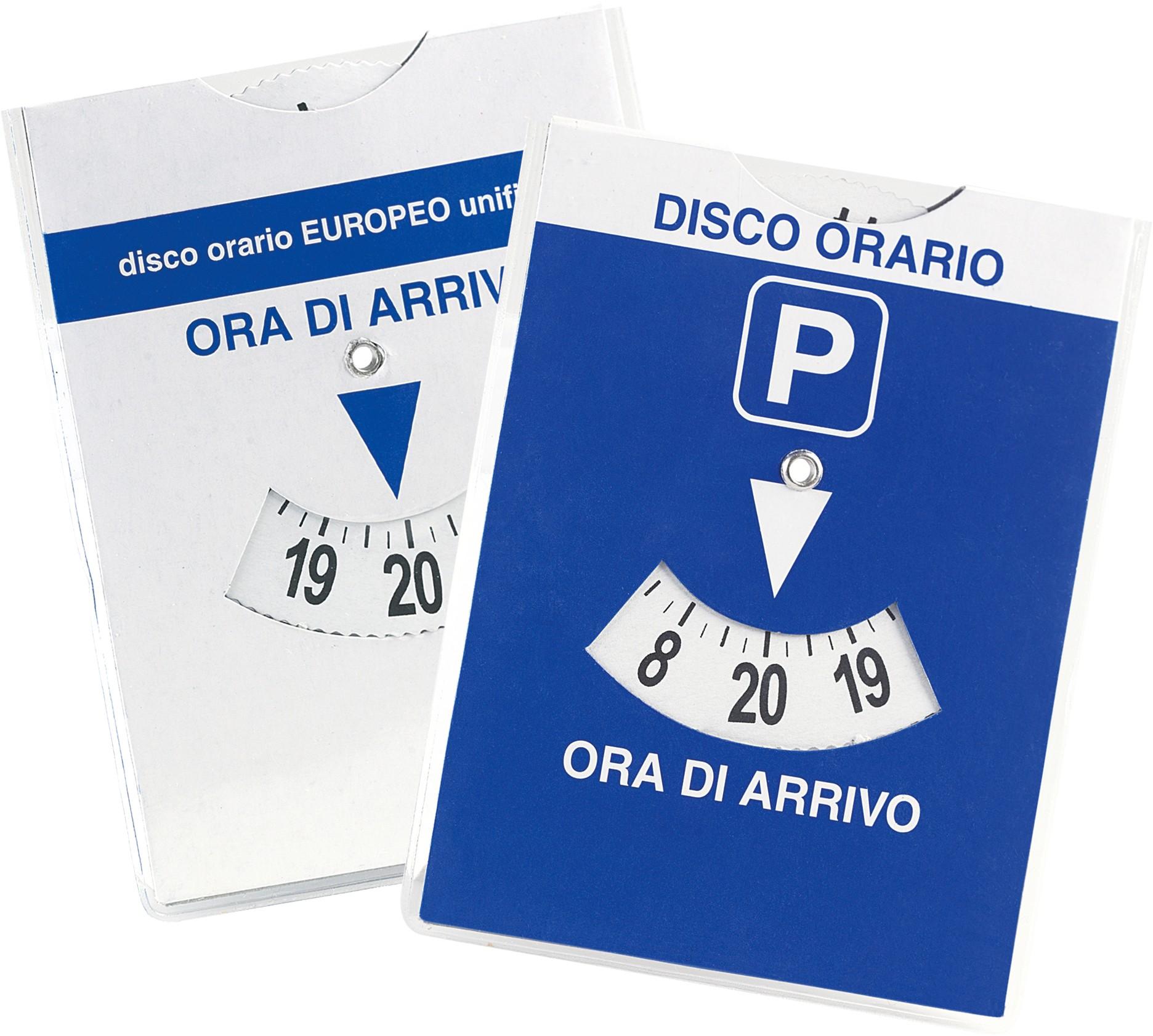 Estremamente Disco orario europeo maxi auto in parcheggio blu 12x15 con quarto  NL43