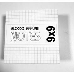 Cubo carta per appunti 9x9 ( 420 fogli) carta a quadretti per ricambio cubo