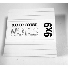 Cubo carta per appunti 9x9 ( 420 fogli) carta a righe per ricambio cubo