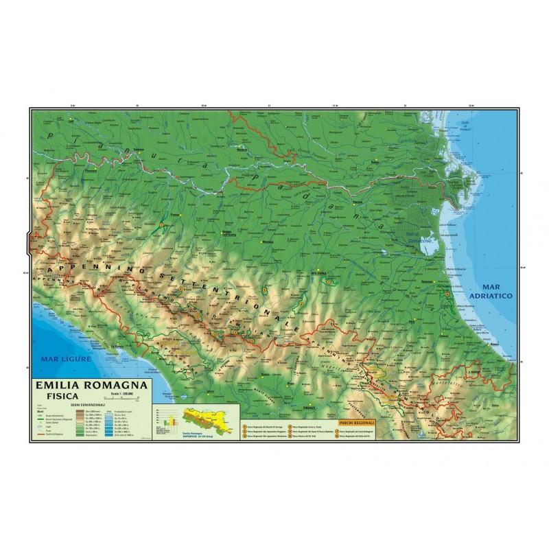 Regione Liguria Cartina Fisica.Carta Geografica Murale Regionale Emilia Romagna 100x140 Bifacciale Fisica E Politica Geografia Cancelleria E Prodotti Per Ufficio Aaaid Org