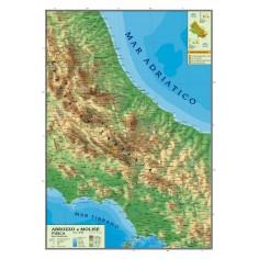Cartina Geografica Sicilia Politica.Carta Geografica Murale Sicilia 100x140 Bifacciale Fisica E Politica