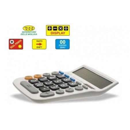 Calcolatrice da tavolo 12 cifre - tasti grandi - W5112