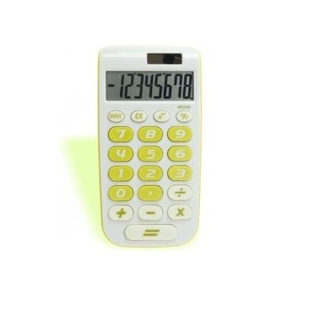 Calcolatrice tascabile 8 cifre BIG - doppia alimentazione